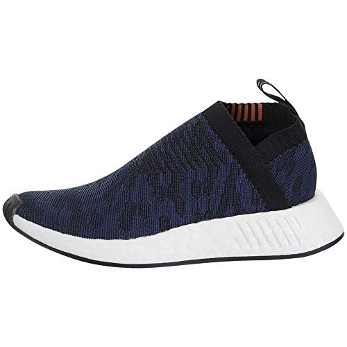 adidas Women's NMD_CS2 Primeknit Blue/White/Black CQ2038 (Size: 7.5)