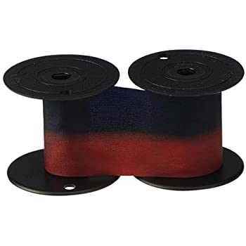 Replacement Lathem 7-2CN Blue/Red Ribbon