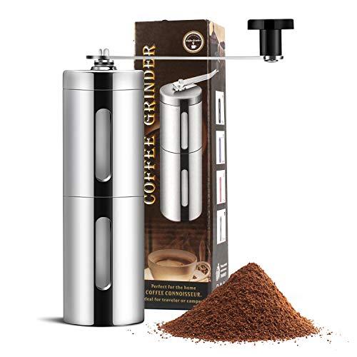 PTN Molinillo de café Manual, Molinillo de café portátil