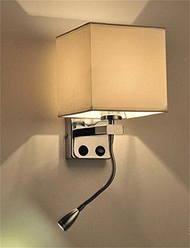 Energiebesparende verstelbare wandlamp - LED-legering Moderne minimalistische creativiteit wandlamp trappen hotel woonkamer bed slaapkamer schepen balkon wandlamp (niet de lichtbron inbegrepen)