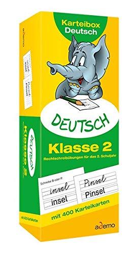 Karteibox Deutsch Klasse 2