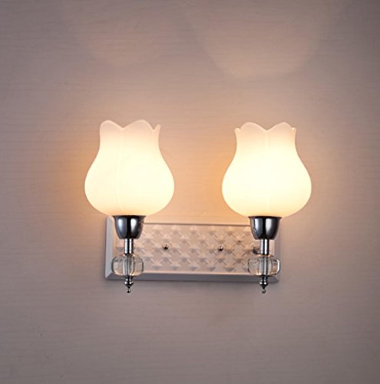 LightSeiEU Einfache Moderne und stilvolle Wohnzimmer Flur Flur Schlafzimmer Wandleuchte Nachtwandlampe Raumbeleuchtung (Energieeffizienzklasse  A +) (gre   2 Light)