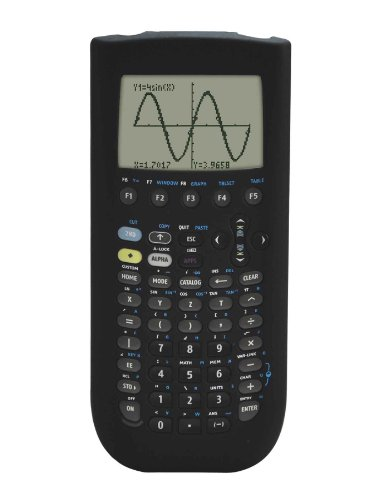 Guerrilla Silicone Case for Texas Instruments TI-89 Titanium Graphing Calculator, Black