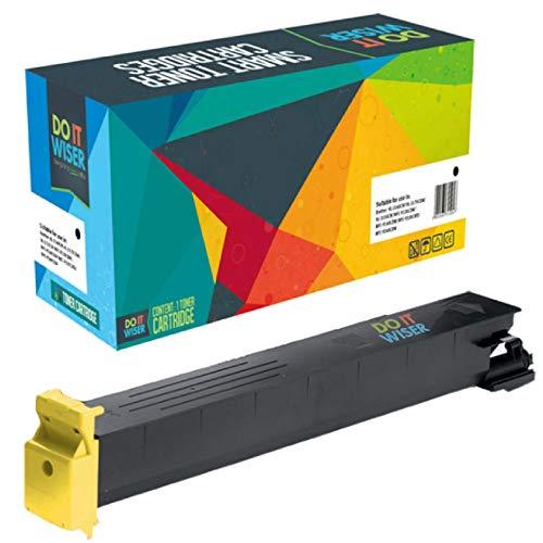 Do it Wiser Kompatible Toner als Ersatz für Konica TN213 TN213Y Minolta Bizhub C353 C203 C200 C253 C253 (Gelb, 19.000 Seiten)