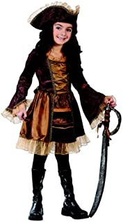 Big Girls' Sassy Victorian Pirate Costume