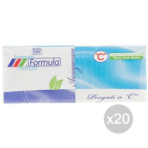 Set 20 handdoeken Ac Formula X152 2 Veli accessoires voor de keuken E La Tavola