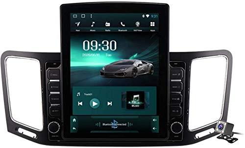 9,7 pollici verticale dello schermo 2 DIN Android 9.1 stereo da auto per VW Sharan 2012-2018 radio con navigazione di GPS Costruito in DSP di FM AM Supporto Bluetooth/SWC/specchio link