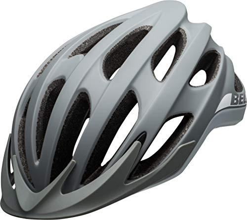BELL Drifter, Casco da Bicicletta MTB Unisex-Adulti, Grigio Opaco/Lucido, S (52-56cm)