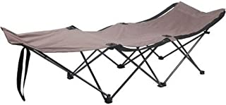 Ozark Trail Easy-Fold Wide Camp Cot Made of Durable Polyester and Steel Frame