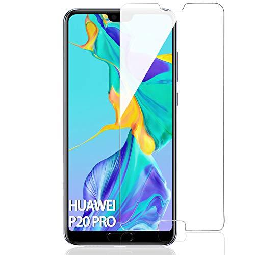 FUMUM Schutzfolie für Huawei P20 Pro Folie,Premium HD Anti-Kratzer Glasfolie 9H Displayschutzfolie für Huawei P20 Pro Folie aus Glas[Bubble-frei][Anti Fingerabdruck][Anti-Öl]