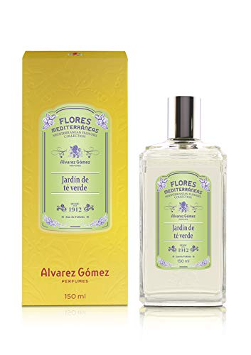 Alvarez Gomez Flores Mediterráneas, Jardín de Té Verde, Eau de Toilette, Floral, 150 Mililitros