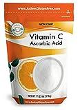 Judee's 100% Pure Vitamin C Powder 11.25 Oz(Ascorbic Acid) ( 24 Oz Size Also)) - Immune Support & Antioxidant Supplement - No Fillers