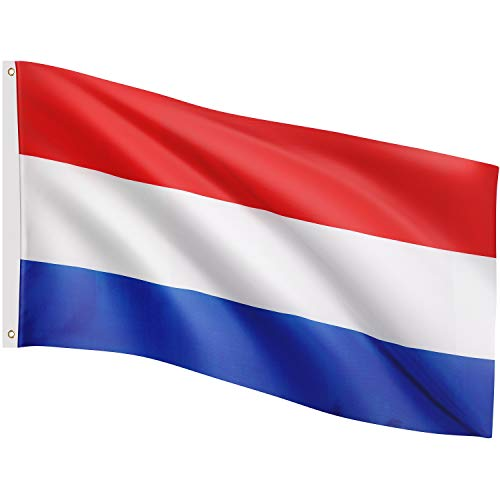 FLAGMASTER Fahne Flagge, 29 Verschiedene Fahnen zur Wahl, Größe 120cm x 80cm, Metallösen zur Befestigung