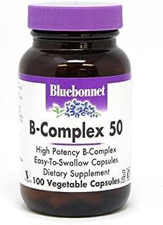 Bluebonnet Nutrition B-Complex 50, 100 Count