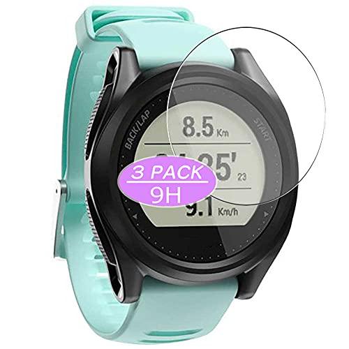 VacFun 3 Piezas Vidrio Templado Protector de Pantalla, compatible con Kiprun GPS 550, 9H Cristal Screen Protector Protectora Reloj Inteligente