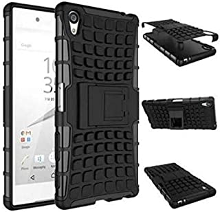 حافظة واقي عالي الجودة من Calans لهاتف Sony Xperia Z5 Premium Z5 Plus HDS Series بطبقة مزدوجة مضاد للصدمات مع واقي للشاشة ...