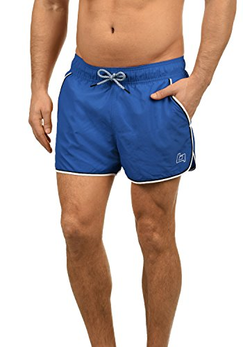 Blend Balderian Herren Badehose Badeshorts Schwimmshorts Mit Kordel, Größe:M, Farbe:Cobalt Blue (74647)
