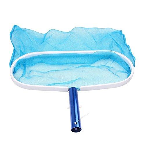 45,7 cm Deep-bag étang Net, piscine, feuille Net avec poignée Clip Écumoire Râteau Convient pour la plupart des Pole pour nettoyage de piscine