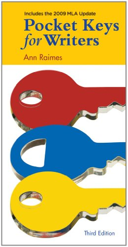 Pocket Keys for Writers, 2009 MLA Update Edition (2009 MLA Update Editions)