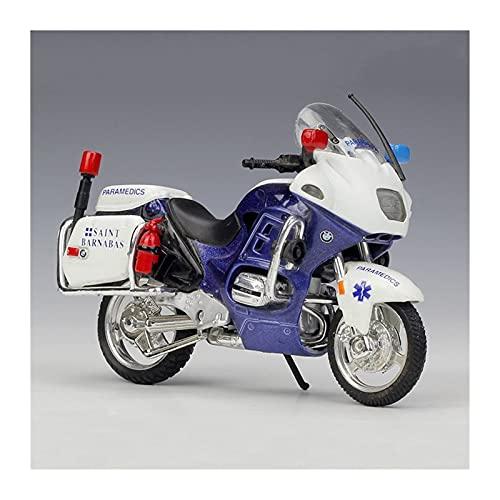 El Maquetas Coche Motocross Fantastico 1:18 para BMW simulación de aleación de motocicleta colección de adultos decoración regalo locomotora modelo de juguete Regalos Juegos Mas Vendidos ( Color : D )