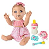 Luvabella Blonde Hair Interactive Baby Doll with Expressions & Movement (Ages 3+)