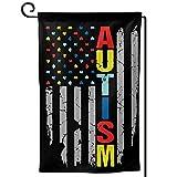 Autism Awareness Flag Garden Flag Home Yard Holiday Flags Double Sided Decorative House Decor Flag