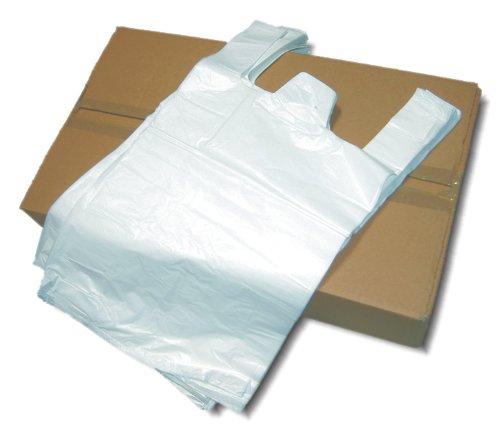 1000 Stk. Hemdchentragetasche, Tragetasche 28+14x48 bis zu 14 kg Tragkraft !!! sehr stabil !