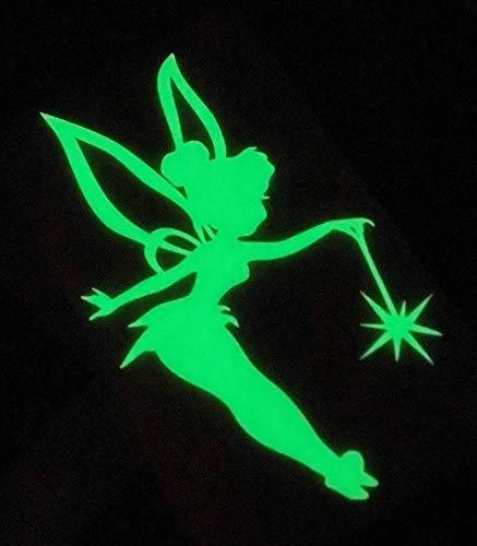 Car Decal Tinkerbell Glow in Dark 6 Inch Vinyl Classic Movie Disney