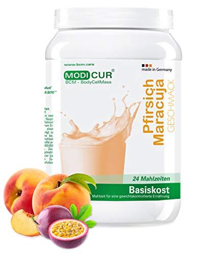 BCM Modicur Basis Pfirsich-Maracuja 1 Dose à 500g (24 Portionen/Eiweißshake/BCM BodyCellMass)
