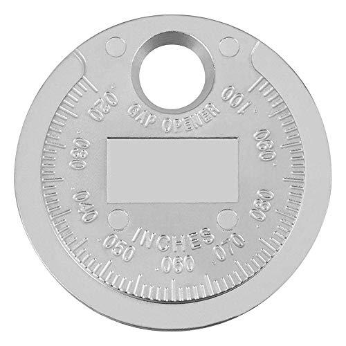 Williamly 0,02 '' - 0,1 '' Calibro Ultra-preciso Appositamente per Candele, Componenti Auto Gap Strumento Calibro Professionale, Tipo di Moneta, Lega di Zinco