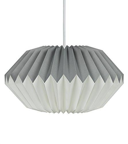 Wild Wood - Lámpara de papel, color gris