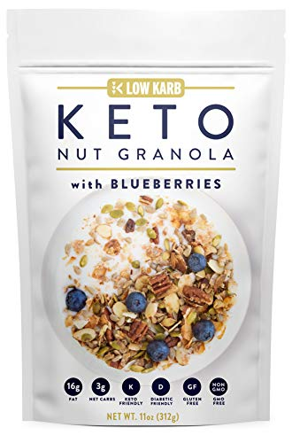 Low Karb - Keto Blueberry Nut Gr...