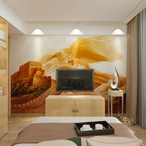 3D the Great Wall fresco, living office office, wallpaper room wallpaper wallpaper wallpaper, 200 × 175cm