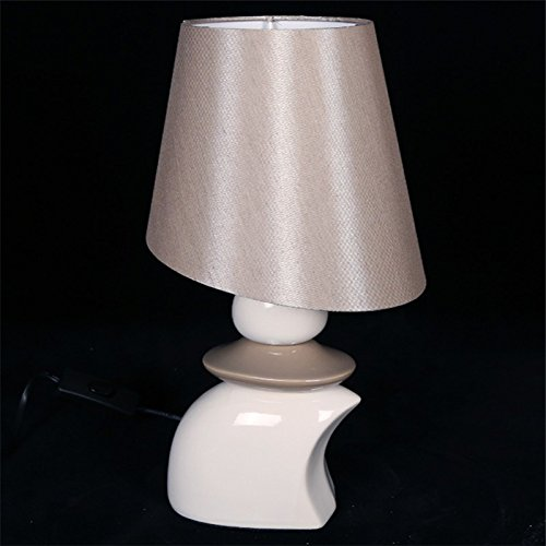 Lampenkap Yanghao 35 x 10 cm – spaarlamp, warmwit licht, knoopschakelaar