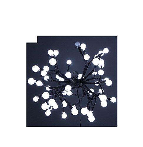 Fomax Suspension à 54 LED Clignotantes - Blanc