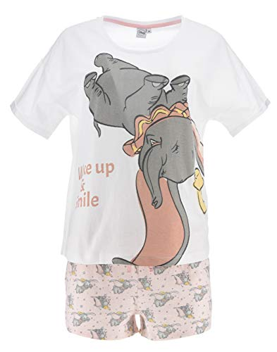 Dumbo Mujer Pijama Corto