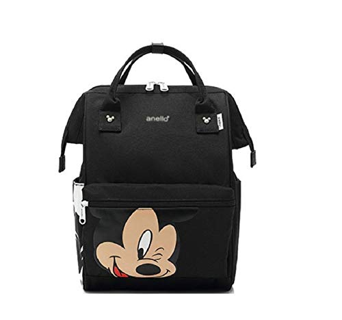 Backpack Shoulder Bag Mickey Mouse Large Capacity Maternity Bag Travel Diapers