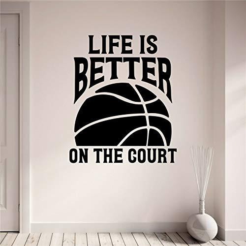Sanzangtang Basketbalspeler, zelfklevend, behang, wanddecoratie, vinyl, afneembaar, kinderkamer, kinderkamer