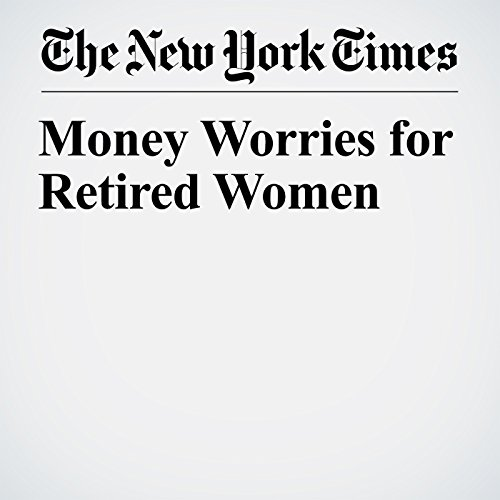 Money Worries for Retired Women copertina