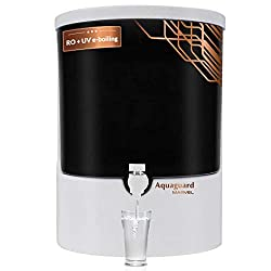 Aquaguard Marvel RO+UV+MTDS (8L) Water Purifier with Active Copper Technology,7 Stages of Purification (White & Black) from Eureka Forbes,Eureka Forbes,Aquaguard Marvel