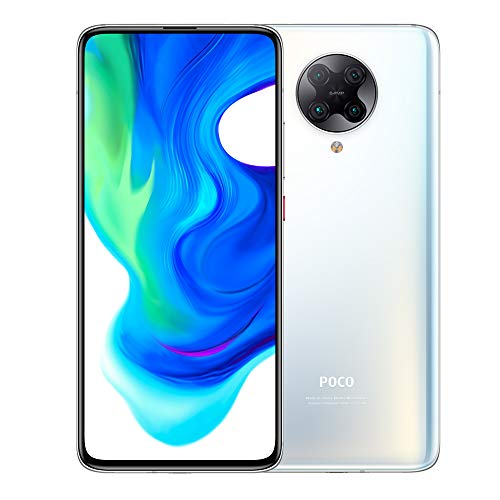 "Xiaomi POCO F2 Pro 5G Smartphone 6GB RAM 128GB ROM Qualcomm® Snapdragon ™ 865 64MP Quad Rear telecamera AI 8K Video 6.67"" AMOLED 4700 mAh(typ) bianca [Versione globale]"
