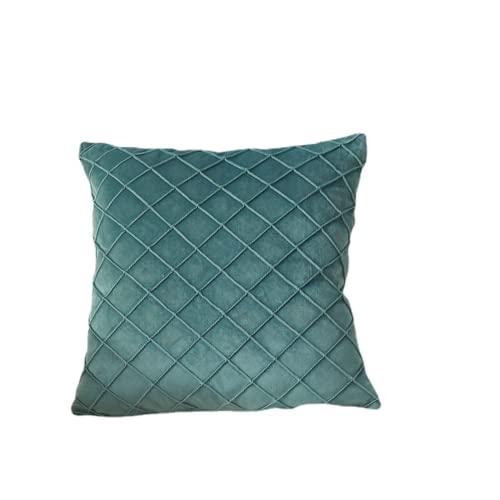 JONJUMP 45x45cm Uso Domestico Soggiorno Cuscino Morbido Colore Solido Decorativo A Strisce Cuscino Per Divano Letto Sedia