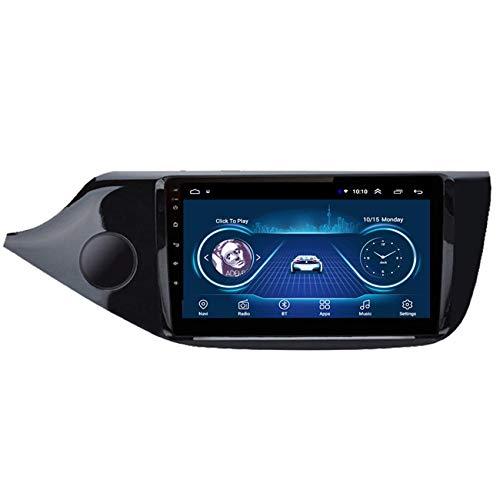 KLL Sistema de Receptor de Audio 2 DIN Android para Kia CEED 2012-2014 Pantalla táctil 2.5D Manos Libres del Bluetooth Controles del Volante Entrada Aux/CAM/DVR,WiFi+4g,1+32G