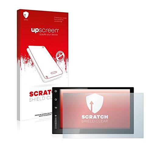 upscreen Scratch Shield Clear Displayschutz Schutzfolie für Newsmy CarPad 2s NU3001 (hochtransparent, hoher Kratzschutz)