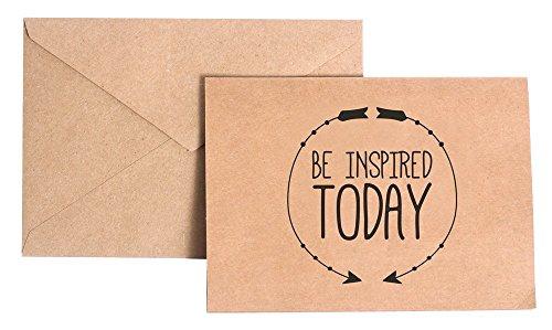VinMea worden geïnspireerd vandaag briefpapier Note Card Set