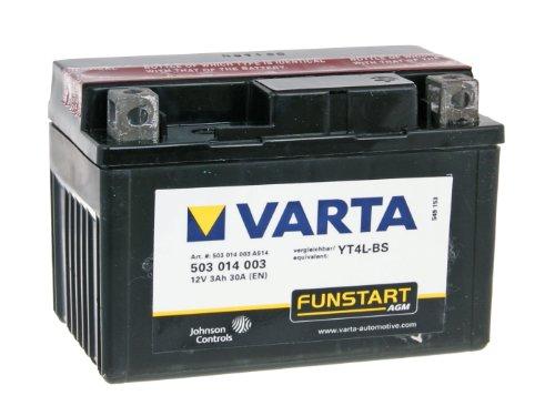 58007 Varta 503014003A514 Powersports Freshpack AGM Motorradbatterie 3AH - 12 Volt