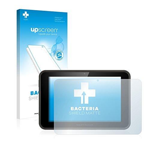 upscreen Antibakterielle Entspiegelungs-Schutzfolie kompatibel mit HP Pro Slate 10 EE - Anti-Reflex Bildschirmschutzfolie matt, Anti-Fingerprint