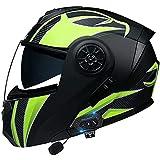 Casco Moto Bluetooth Integrato