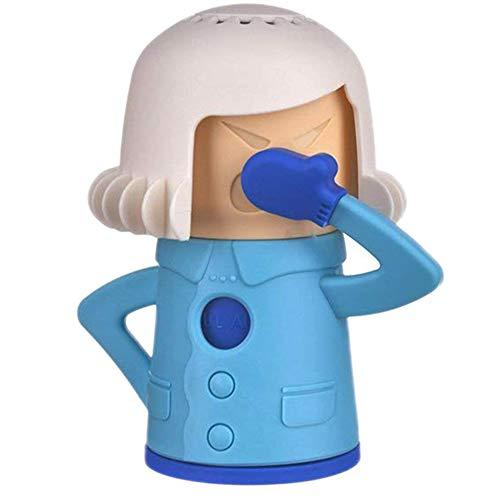 BESLIME Angry Mama Limpiador de Microondas-Limpiador de vapor de microondas,Cold Mama Fridge Cleaner Cool Mama Congelador Olor Ambientador Mejorar el Olor de Dormitorio, Baño y Microondas Horno,1pcs