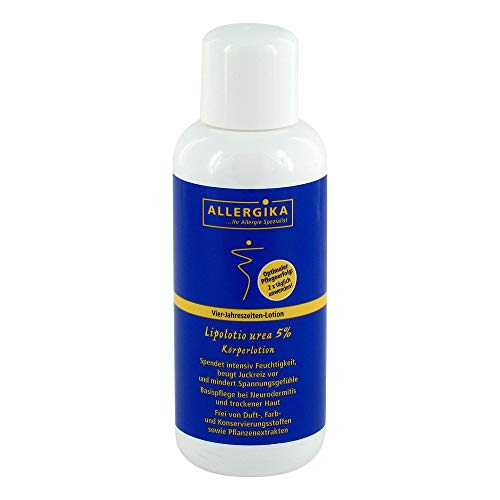 ALLERGIKA Lipolotio urea 5% 200 ml